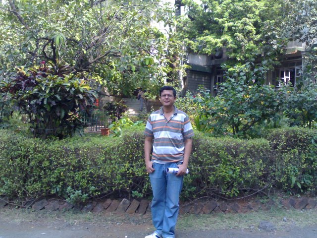 At Father Agnel Ashram-Bandra-Bombay