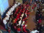 2009- Christmas- San Francisco Church-Dahra- Carols-Choirs of over 20 nationalities praying and singing together.