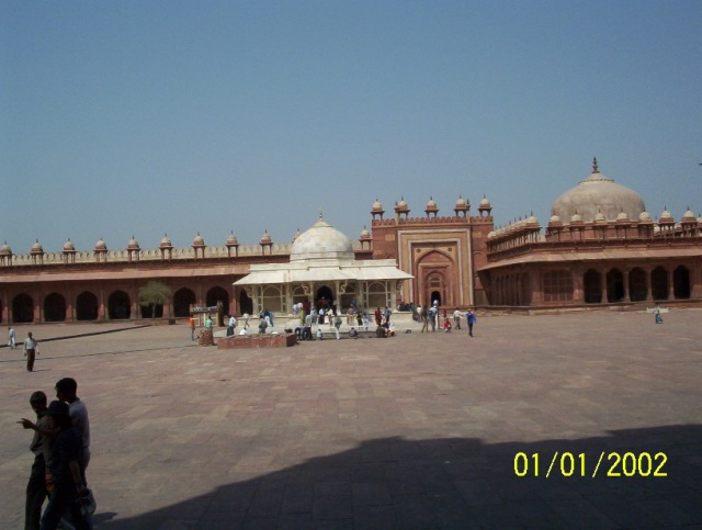 Fatehpur Sikri-Dargah of Sufi saint-Sheikh Salim Chisthi