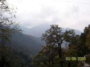 Mussoorie-India..Rain in the Mountains