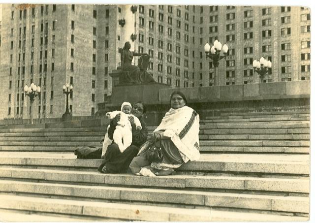 Naniji-Mrs.Kamla Uniyal-Moscow.Mid 1970s