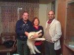 Rex with Anil,Merla, Jeevan- Dec 2011  SEE BLOG-