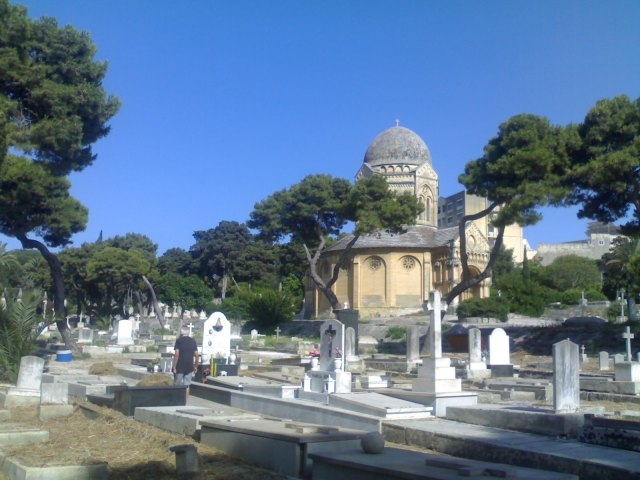 Cemeteries are used in spiritual traditions for most unique prayers. The Non-Catholic cemetery beyond Floriana on way to Msida