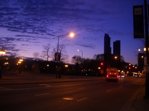 Remembering a long walk with a veteran of Indian Diaspora Early morning by Lake Michigan..November 2010