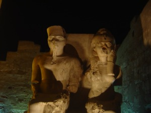 THEBES- LUXOR TEMPLE-SOUTHERN EGYPT- NIGHT PHOTOGRAPHY..Remembering my photography teachers Champolion said-Thebes is the most beautiful word spoken ever in any language
