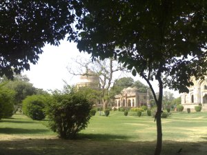 Lodhi gardens-4 generations of our family have walked here-May 2013
