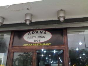 Adana-1994- The Turkish restaurant of Tripoli where we have had many discussions of our Reading Group