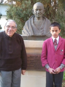 Sahil - Father Mintoff -M.K.Gandhi- peace lab 2012-3