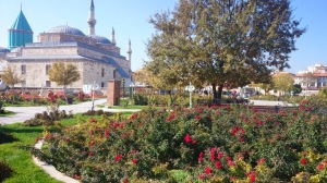 Mevlana Museum, the shrine of Jalaludin Rumi and other important figures of this spiritual movement. The relations between Asia Minor, Constantinople, Europe come alive through the many exhibits related to books, music. The rose garden around the museum is a particularly charming place to sit in the winter sun.