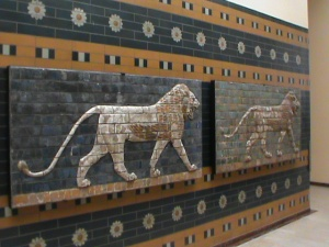 LINKS AND MEMORIES Lions of Gates of Babylon. The symbols of the Royal Ontario Museum-ROM- seen at the Archeology Museum of Istanbul.