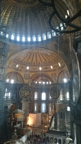 HAGIA SOPHIA The domes have spectacular light and shade effects