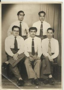 1958... My grandfather, in Karachi days, Ministry of External affairs, India