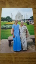 Sarawati and Laxmi Buaji, Taj Mahal-2015 March