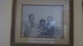 1968- My first birthday-with my grandfathers -Ganesh Prasad Uniyal and Bhawani Shankar Bhatt