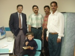 2005 DR.BHATT, DR.VISHWANATH, JESU RATNAM LAXMAN REDDY, WITH SAGAR