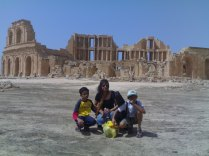 2009 Sabratha..A diary by the Mediterranean sea