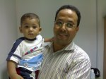 2012 Solaiman Abuzeidi- Poet, Friend, Night –Friday Shifts With son LSMC Radiology is only department which runs 24 x 7 Solaiman got married while in Radiology LSMC.  ...It takes the Heart of a Lion to do an X-ray in the Tripoli of today