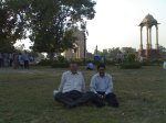 """FRIENDS WHO SHAPED MY PERSPECTIVE..With Tiwari-ji..India Gate lawns-2011-October...He taught me to see life at a """"Slow Shutter speed"""" See Blog http://prashantbhatt.com/2012/10/26/seeing-life-at-the-slow-shutter-speed/"""