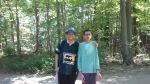 EDWARDS GARDENS-Toronto Botanical Society- This year Sahil became taller than me