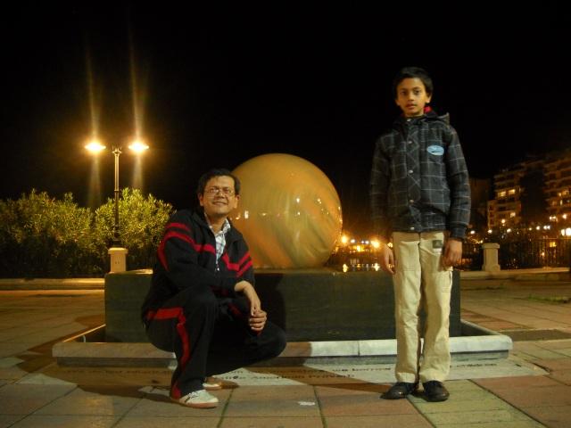 with sahil..malta l sliema..feb 2012
