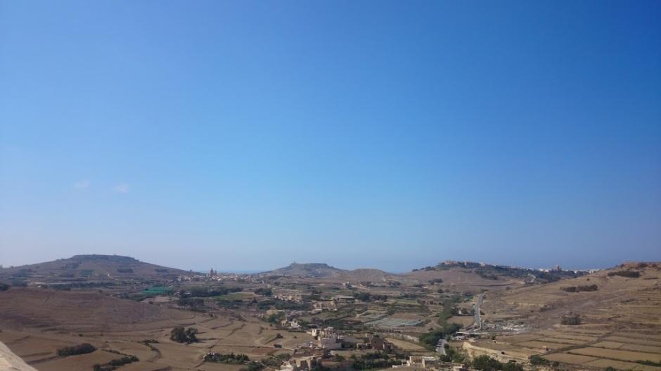 Views from Gozo Citadel, Malta-5.8.16