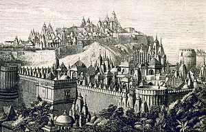 Palitana Jain Temples-Bhavnagar-Gujarat-Source Wikipedia